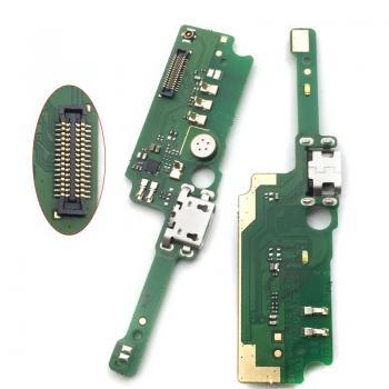 Alcatel Shine Lite 5080x Şarj Soket Mikrofon Bordu