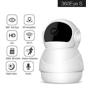 Piaks 360Eye S EC50 Wireless IP Kamera Kablolu Kablosuz IP Bebek İzleme