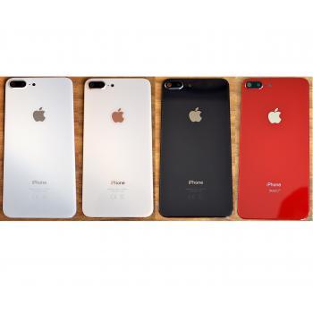 Apple iPhone 8 Plus Arka Pil Batarya Kapak Cam Kamera Lensli