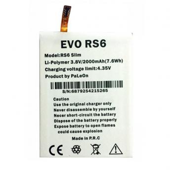 Evo RS6 - Evobt RS6 Slim Pil Batarya ve Tamir Seti