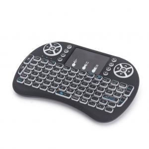 Işıklı Kablosuz Mini Klavye SmartTV Televizyon PS3 Dokunmatik