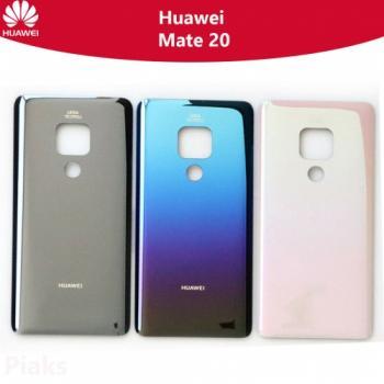 Huawei Mate 20 Arka Pil Batarya Kapak Cam