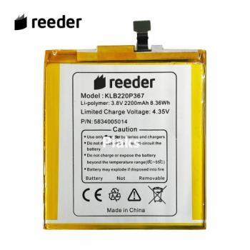 Reeder P11 SE Pil Batarya Orijinal KLB220P367