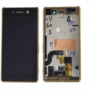 Sony Xperia M5 Lcd Ekran Dokunmatik Çıtalı Orijinal Servis Çıkması