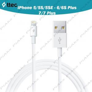 Ttec iPhone 5 5S 5SE - 6 6S Plus 7 7 Plus Data ve Şarj Kablosu