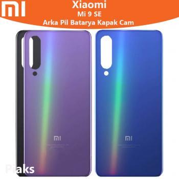 Xiaomi Mi 9 SE Arka Pil Batarya Kapak Cam